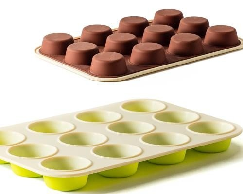 12 Cap Mini Muffin Pan